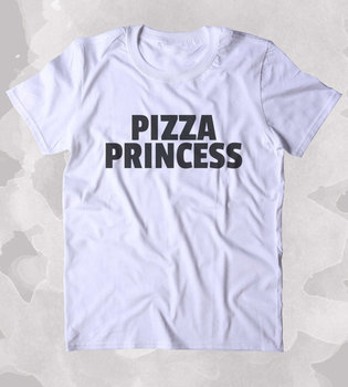 Pizza prenses gömlek komik gıda hungry pizza lover clothing tumblr t-shirt daha boyut ve colors-b129